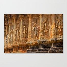 Sacred Pillars Canvas Print