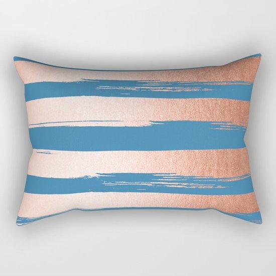 Trendy Stripes Sweet Peach Coral Pink + Saltwater Taffy