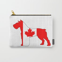 "Schnauzer ""Canada"" Carry-All Pouch"