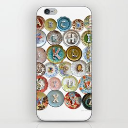 Love Letters to Dinnerware iPhone Skin