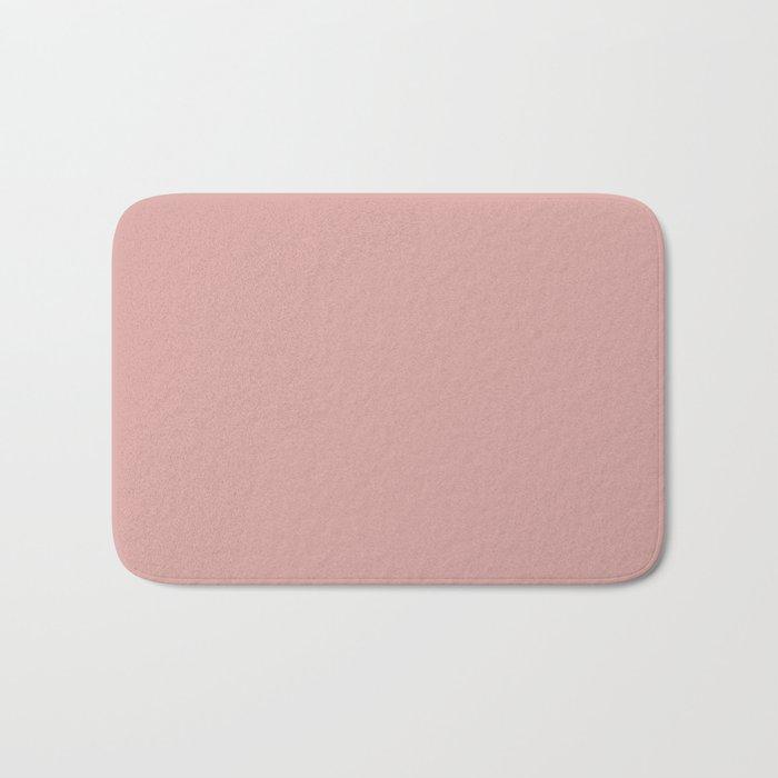 Rose Blush D9A6A1 Bath Mat