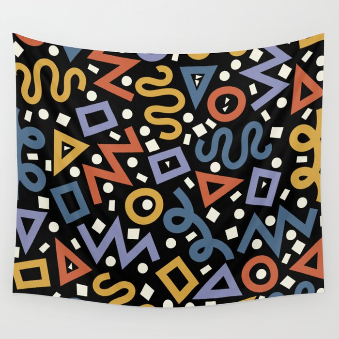 Colorful Party! Wall Tapestry