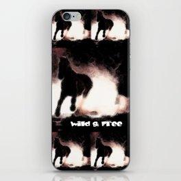 WILD&FREE iPhone Skin