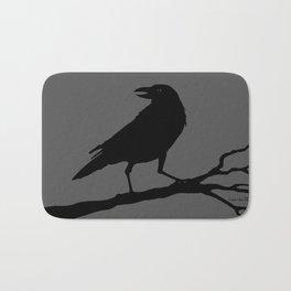 Raven - grey/black Bath Mat
