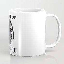 BEWARE OF BULLSHIT Coffee Mug