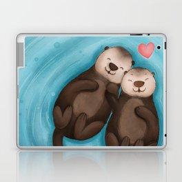 Otters in Love Laptop & iPad Skin