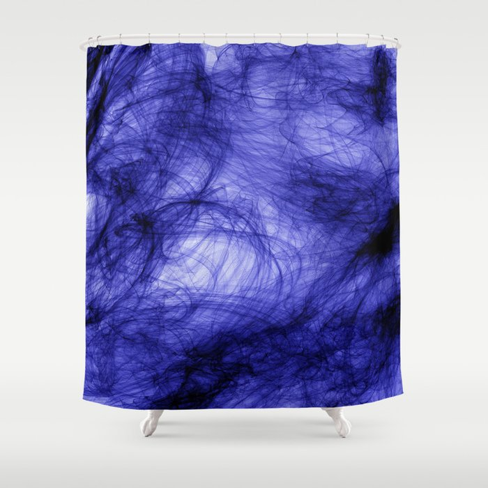 PURPLE INDIAN INK IN WATER Shower Curtain by colourcollective | Society6