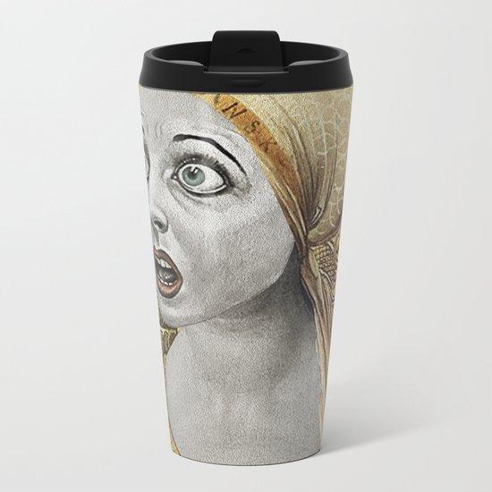 WTH? Metal Travel Mug