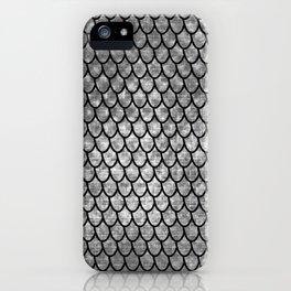 Mermaid Scales - Silver iPhone Case