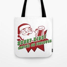 Furloughed Santa Tote Bag