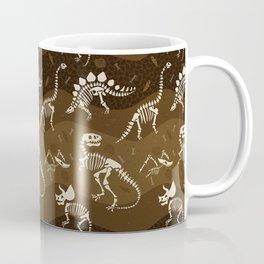 Fossil Dinosaur Pattern Coffee Mug