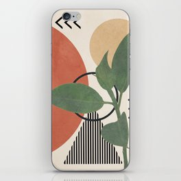 Nature Geometry III iPhone Skin
