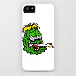 puking monster iPhone Case