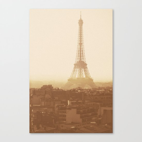 Expired Paris Canvas Print