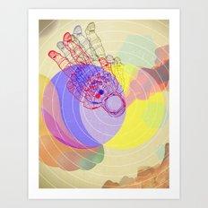 Major Dave Art Print