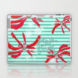 Falalalala Flower Laptop & iPad Skin
