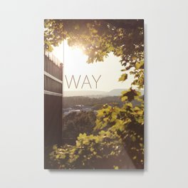 Way, Norway Metal Print