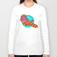 platypus Long Sleeve T-shirts featuring Platypus by Ruth Wels