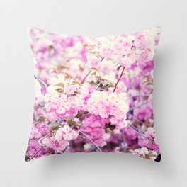 Cherry blossoms II Throw Pillow