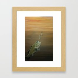 Bait and Switched Framed Art Print