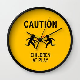 Children at Play Wall Clock
