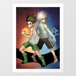 Hunter x Hunter Art Print