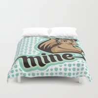 squirrel Duvet Covers featuring Squirrel by VessDSign