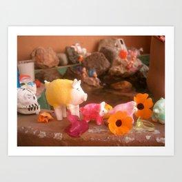 sugar pig Art Print
