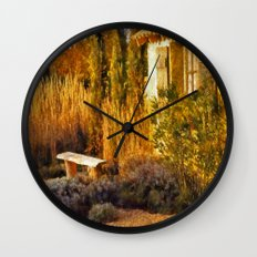 Le Jardin de Vincent Wall Clock