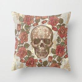 Cranium #002 Throw Pillow