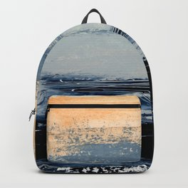 abstract minimalist landscape 5 Backpack