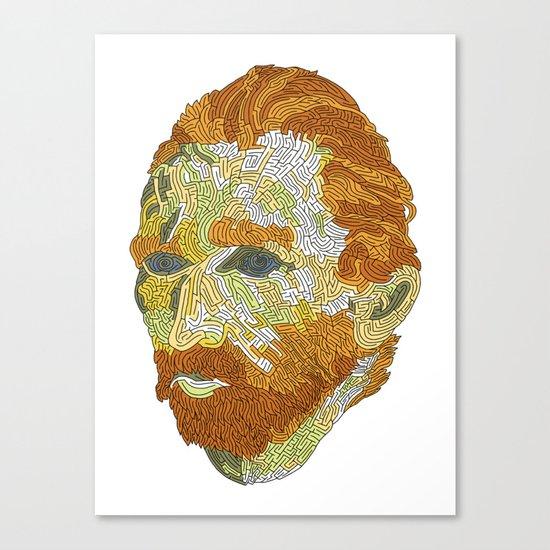 Who is Vincent van Gogh? Canvas Print