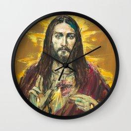 NEW EDITION: Cor Jesu Sacratissimum Wall Clock