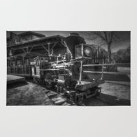 train Area & Throw Rugs featuring Train by John Hinrichs