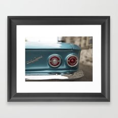 Vintage Chevy Framed Art Print