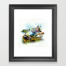 Smash your pattern! Framed Art Print