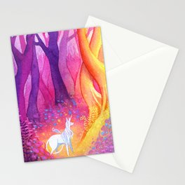 Unicorn Forest Stationery Cards