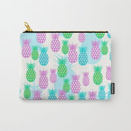 Tropical pineapples Carry-All Pouch
