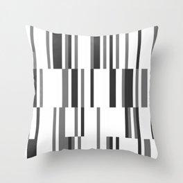 Stripe Rhythm Throw Pillow