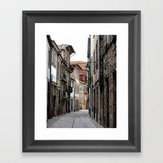Oporto Back Streets Framed Art Print