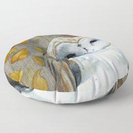 Crown of Wisdom Floor Pillow