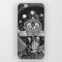 taurus iPhone & iPod Skins featuring TAURUS by Julia Lillard Art