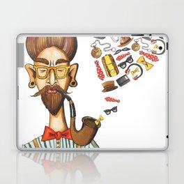 Hipster Love Laptop & iPad Skin