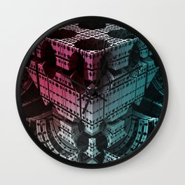 fractal structures -5- Wall Clock