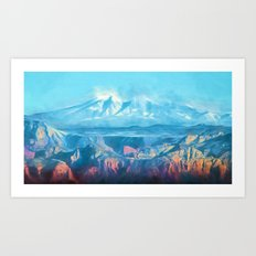 Magical Morning Flight Art Print