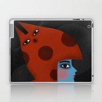 RED CAT HAT Laptop & iPad Skin