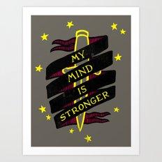 Contender Art Print