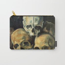 Pyramid Of Skulls, Paul Cezanne, 1900 Carry-All Pouch