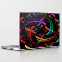 happy birthday Laptop & iPad Skins featuring Happy Birthday by David Lee