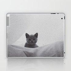 Kitten under the sheets Laptop & iPad Skin